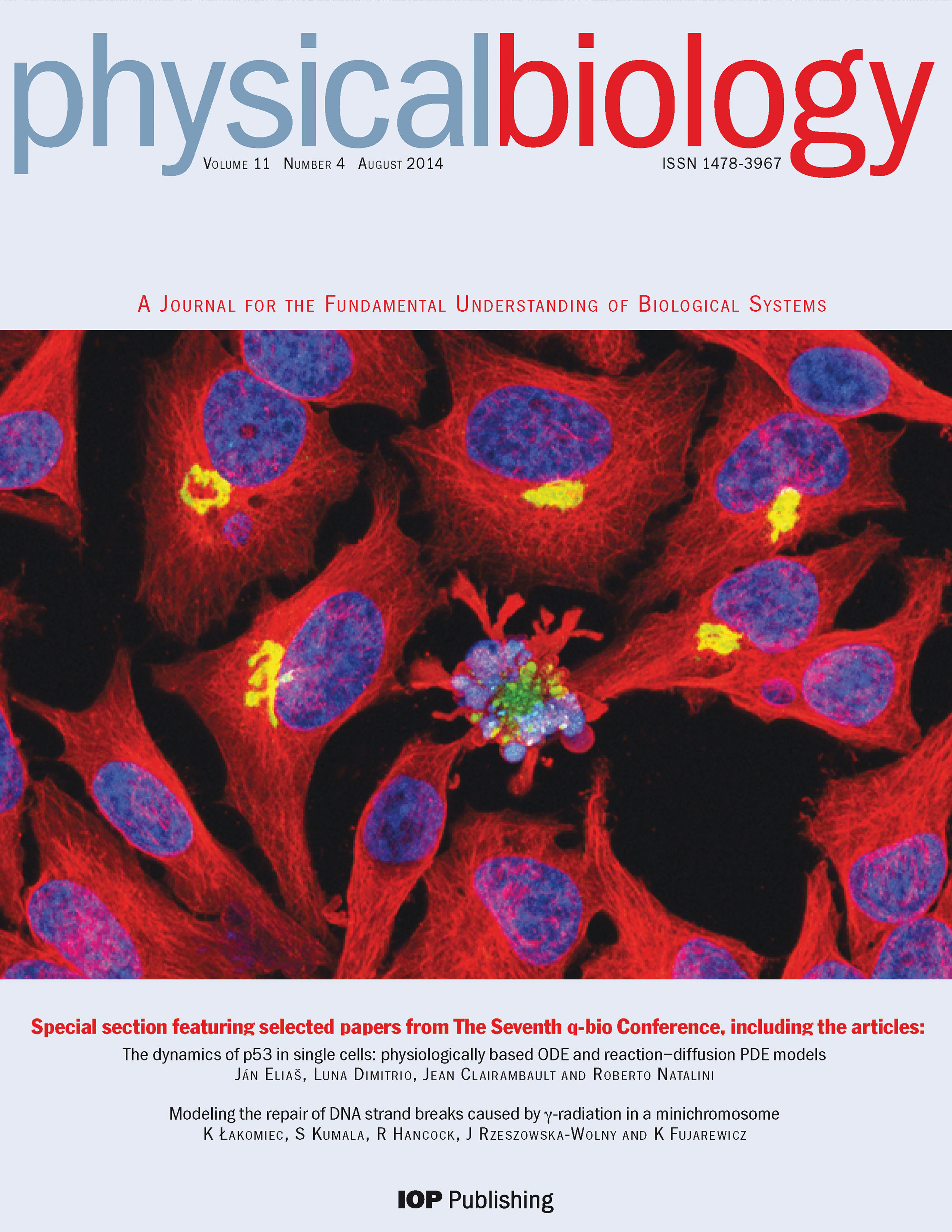 Physical Biology August 2014
