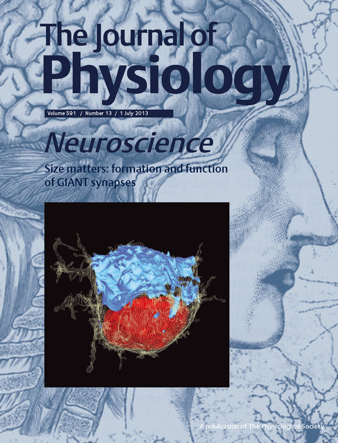 Journal of Physiology cover 2013