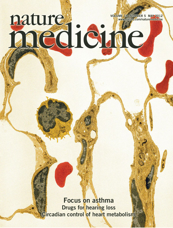 Nature Medicine cover May 2012