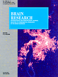 Brain Research Cover 2003