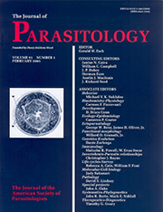 Parasitology Cover 2005